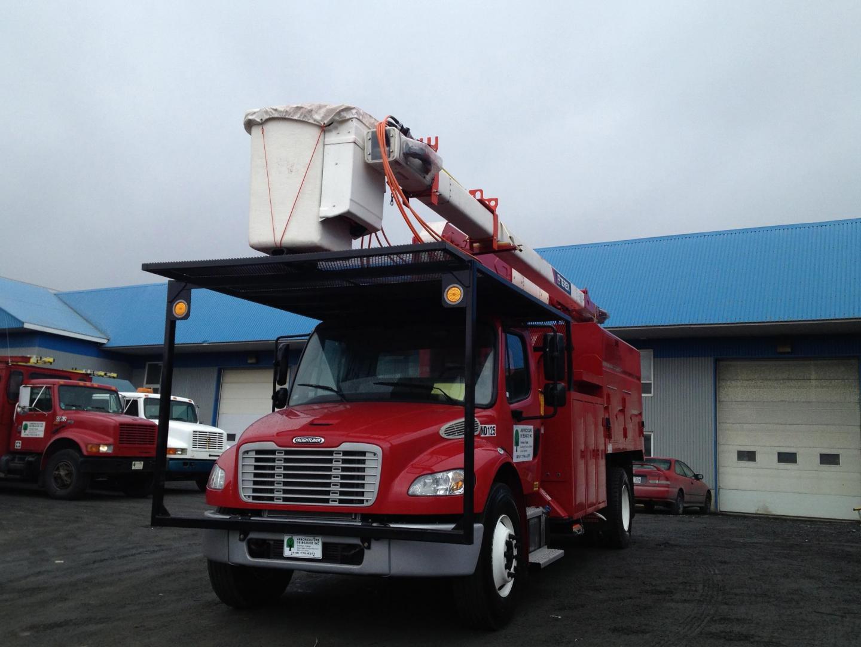 L'un de nos nombreux camions de service